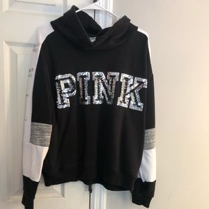 Victoria's Secret PINK cowl neck sweatshirt